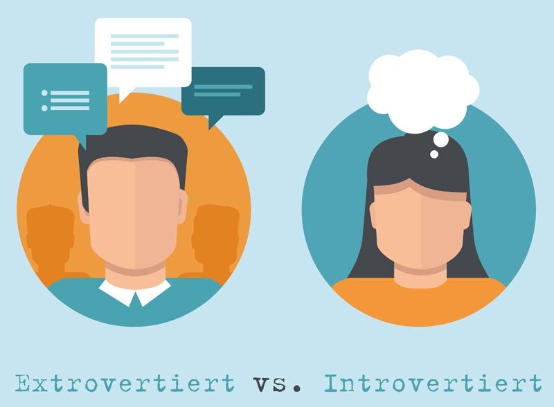 Was heißt introvertiert und extrovertiert